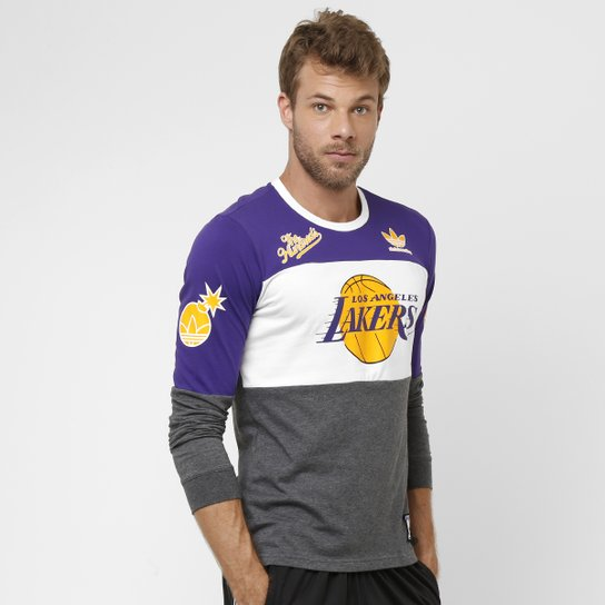 Camiseta Adidas NBA Los Angels Lakers M L - Compre Agora  fb568f91aa9
