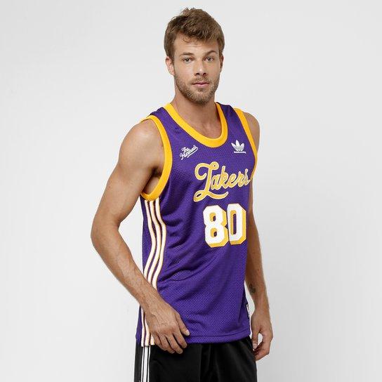 Camiseta Regata Adidas NBA Los Angeles Lakers - Compre Agora  c959a93bf89