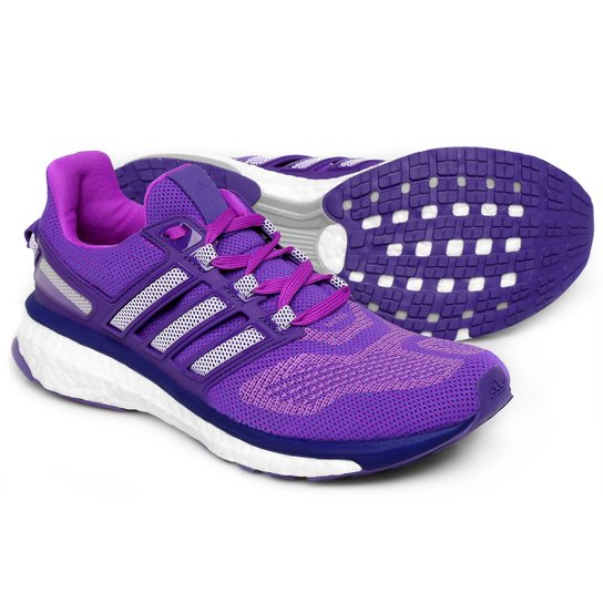 d136bdaca Tênis Adidas Energy Boost 3 Feminino - Roxo