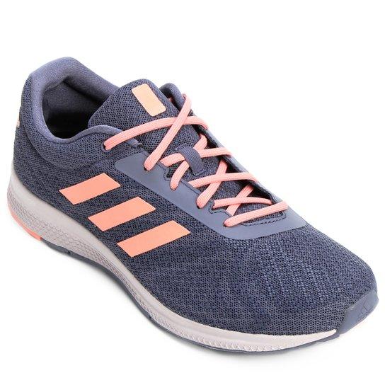 a59cca1fd8d Tênis Adidas Mana Bounce Feminino - Cinza e Salmão - Compre Agora ...