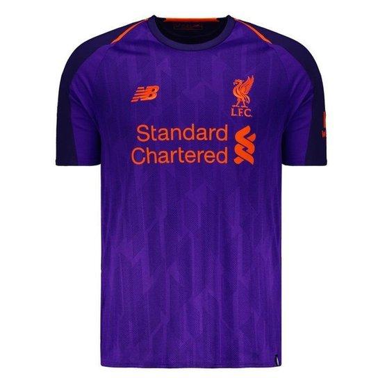 Camisa New Balance Liverpool Away 2019 Masculina - Compre Agora ... 3bbb9f71c00cf