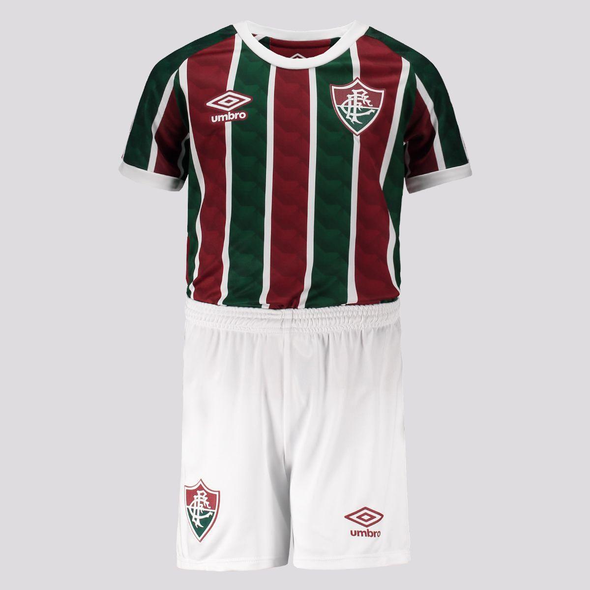 Kit Fluminense Infantil I 20/21 s/n° Torcedor Umbro