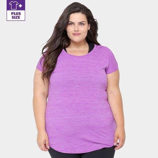 Camiseta Plus Size Fila Poliamida Feminina - Compre Agora  64543b646e81e
