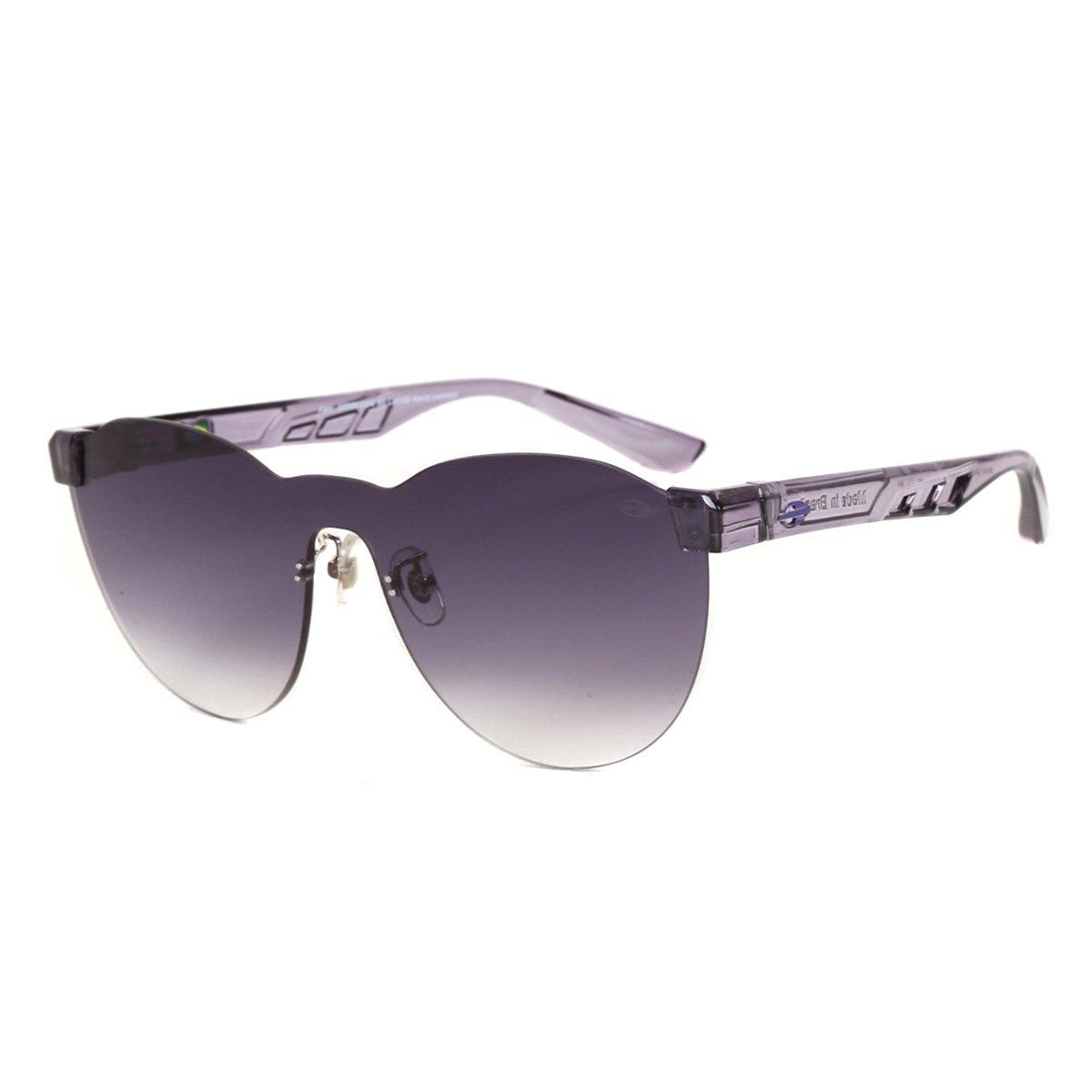 Óculos De Sol Mormaii Fabi Roxo Translucido Brilho