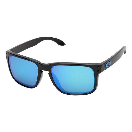dc8cee913 Óculos de Sol Oakley Holbrook Prizm Tartaruga Masculino - Preto e ...