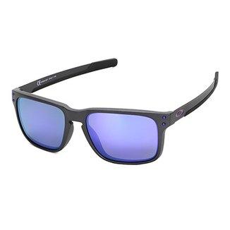 a547a376d5776 Óculos De Sol Oakley Holbrook Mix Iridium Masculino