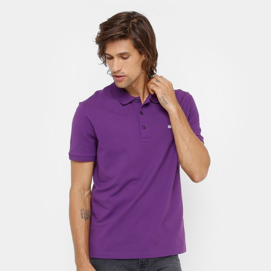 Camisa Polo Lacoste Piquet Slim Masculina - Compre Agora   Netshoes 8c1669eeef