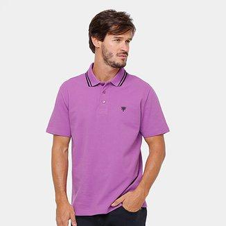 697e8333cc Camisa Polo Cavalera Básica Bordado Masculina