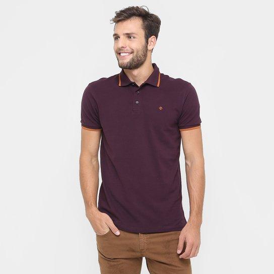 Camisa Polo Forum Piquet Friso Básica - Compre Agora  a9e1bc07ad455