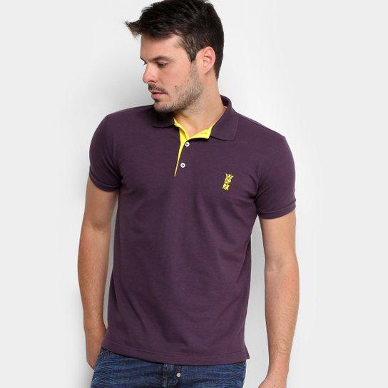 Camisa Polo Opera Rock Piquet Básica Masculina - Roxo - Compre Agora ... 4e1a6c4f4b3f1