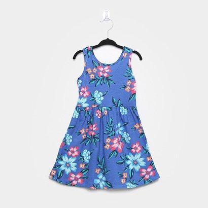 Vestido Infantil Brandili Floral