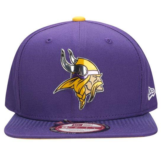Boné New Era NFL 950 Official Draft Minnesota Vickings - Compre ... e839f9da873