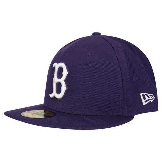 Boné New Era 5950 MLB Basic Colors Boston Red Sox - Compre Agora ... 6071eb468be