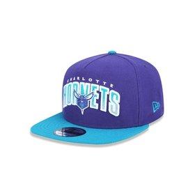 Boné Mitchell   Ness Lã Solid NBA Charlotte Hornets Snapback - Azul ... d22a02605d4