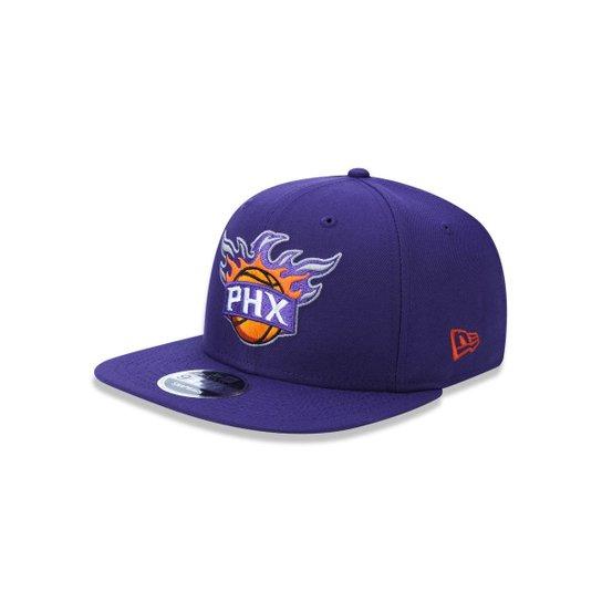 803d36bd10c53 Boné 950 Original Fit Phoenix Suns NBA Aba Reta Snapback New Era - Roxo