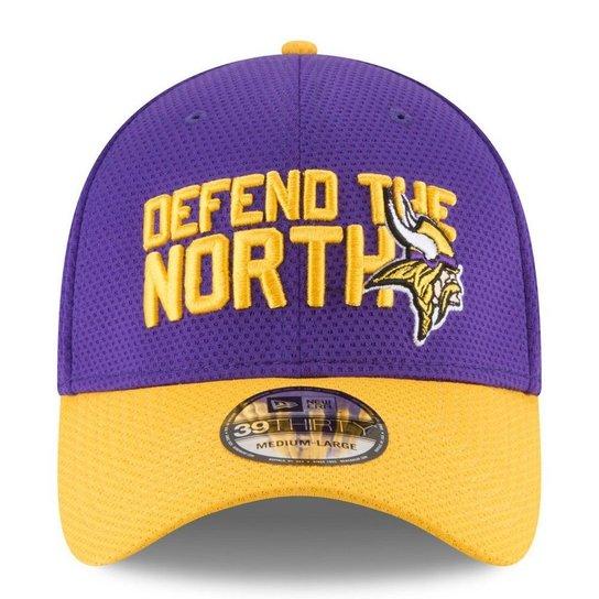 Boné Minnesota Vikings Draft 2018 3930 - New Era - Roxo - Compre ... 187fe039ed2f5