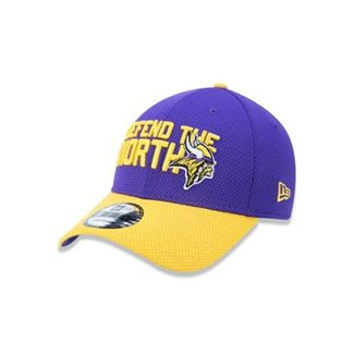 39c2d651ec2b8 Boné 3930 Minnesota Vikings NFL Aba Curva New Era