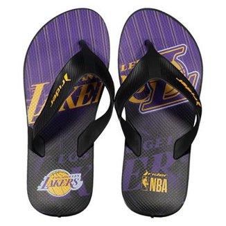 09a8cd547 Chinelo Rider NBA Los Angeles Lakers Masculino