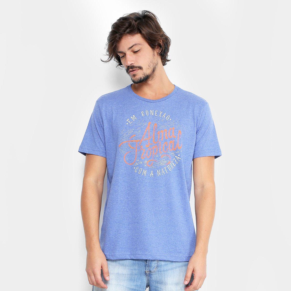 3516cc6f04 ... Camiseta Tropical Brasil Conexão Masculina