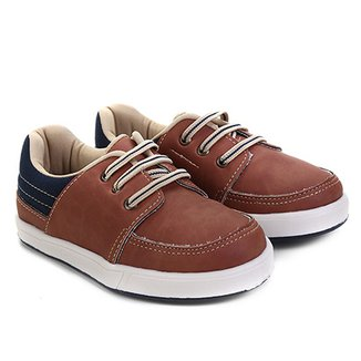 Sapato Infantil Pimpolho Básico Masculino 4f01e4ce470