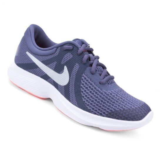 7a609b43ae Tênis Infantil Nike Revolution 4 Masculino - Roxo - Compre Agora ...