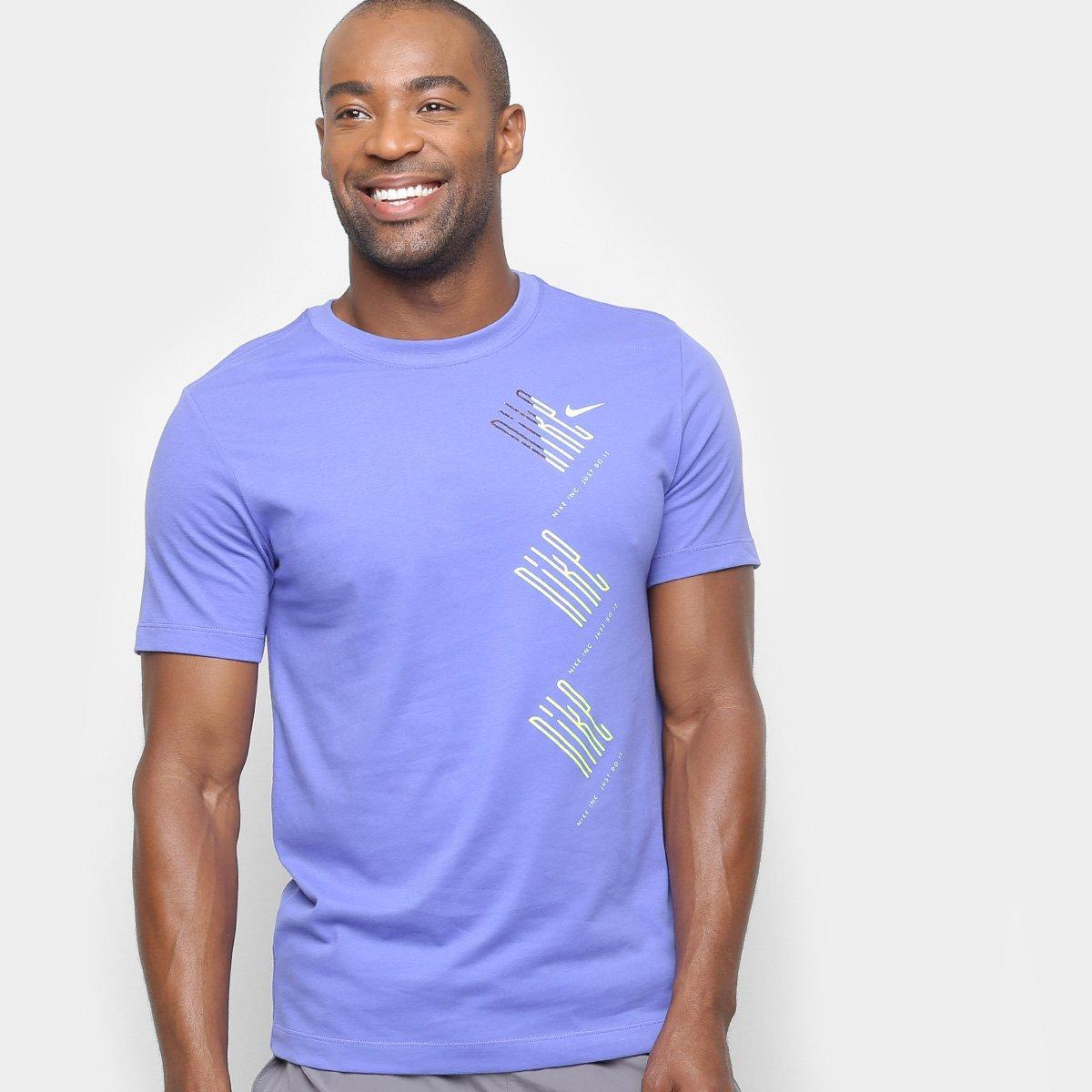 c6a678f208 FornecedorNetshoes. Camiseta Nike Dri-Fit Wild Run Masculina
