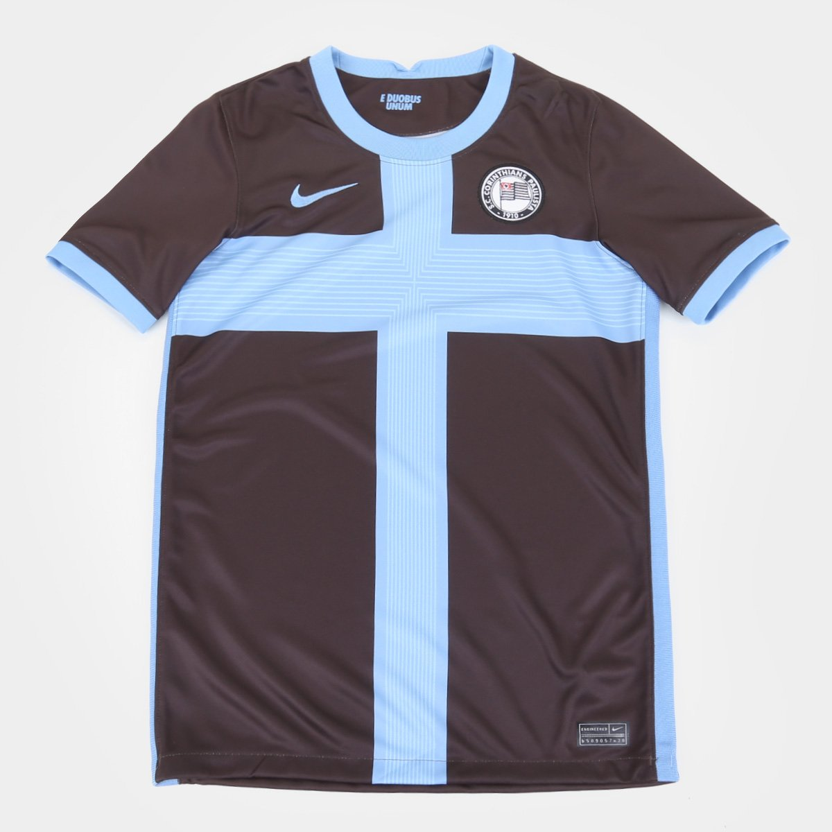 Camisa Corinthians Juvenil III 20/21 s/n° Torcedor Nike