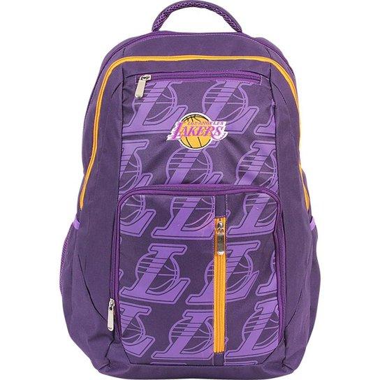 Mochila Dermiwil NBA Los Angeles Lakers - Compre Agora  faadb32bdf7