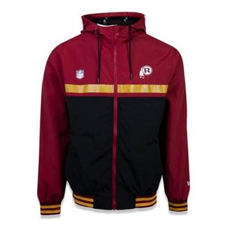 ed4af1e3135ec Jaqueta Windbreak Washington Redskins NFL New Era Masculina