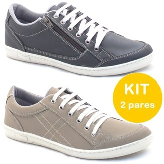 29086963b7aa4 Kit Sapatenis Dexshoes Com Ziper