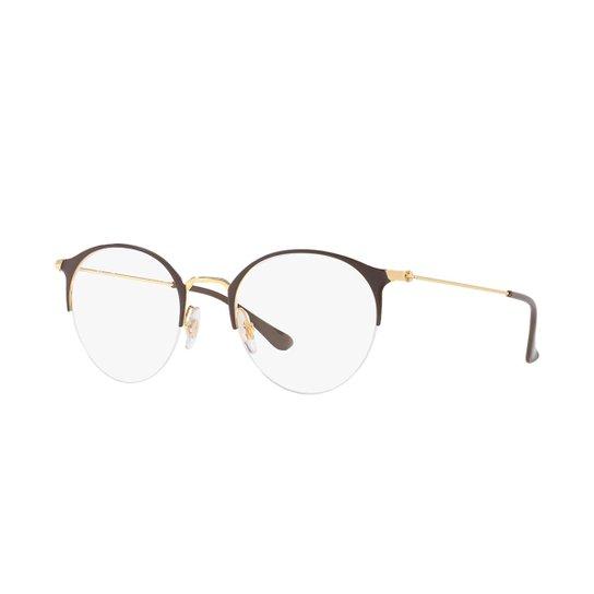 3c80a5ea3 Armação de Óculos Ray-Ban RB3578V Feminina - Roxo | Netshoes