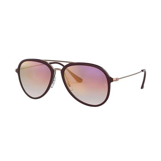 9a65fa88dcdfd Óculos de Sol Ray-Ban RB4298 Feminino - Roxo - Compre Agora