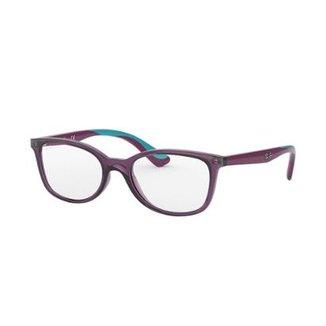 380ece9d6 Armação de Óculos Ray-Ban RB1588 Feminina