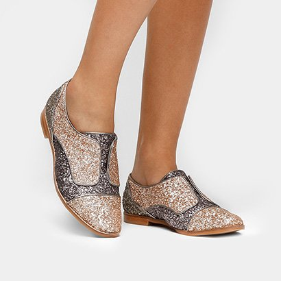 Oxford Shoestock Glitter