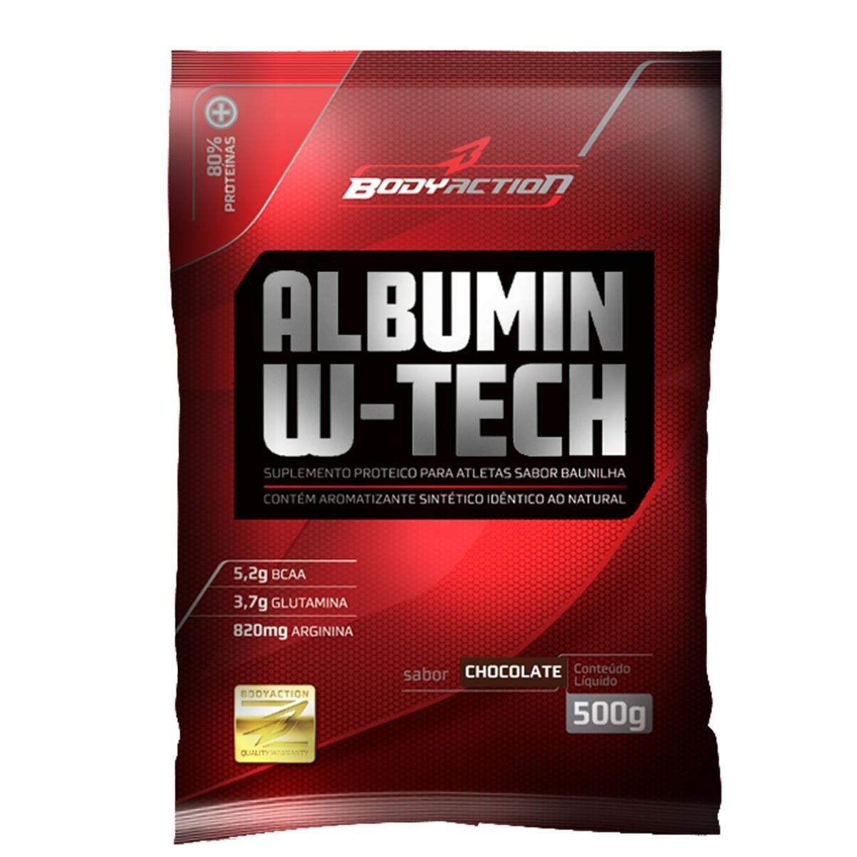 Albumina W-Tech 500 g - Body Action