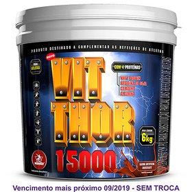 Kit Vit Thor 15000 6 kg + Somarizanol Military Trail 30 Cáps ... f79a409a2117b