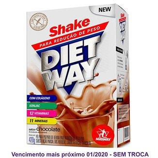 Diet Way Shake Substituto de Refeição 420 G