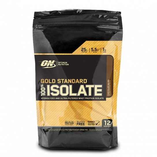 bbe943d6f Gold Standard 100% Isolate 360g Optimum Nutrition - Chocolate