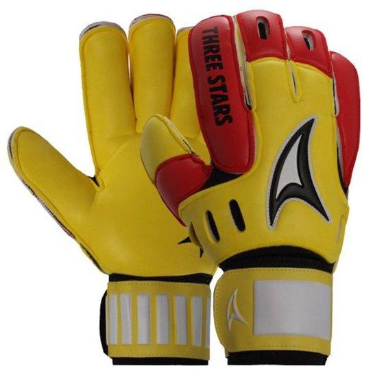 Luva Three Stars Hexa Látex - Amarelo e Vermelho - Compre Agora ... 461a750bd90f4