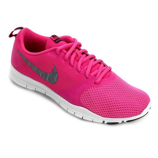 52a1a96b767 Tênis Nike Flex Essential TR Feminino - Pink e Cinza - Compre Agora ...