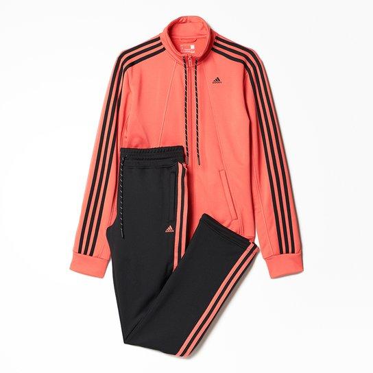 22aea71eb3d83 Agasalho Adidas Ess 3S W - Compre Agora