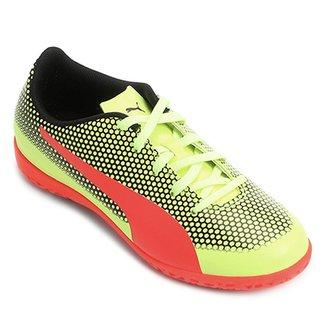 Chuteira Futsal Infantil Puma Spirit IT 999365fdd16d0