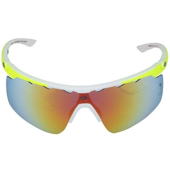 a4b94e06645be Óculos de Sol Mormaii Athlon 4 - Branco+Caramelo