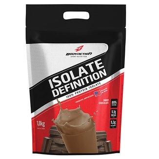 Whey Protein Isolado Isolate Definition 1,8 Kg - Body Action