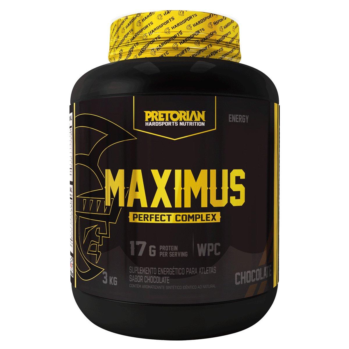 5985a94eb1 Hipercalórico Maximus Muscle Gain 3kg Exclusivo - Pretorian