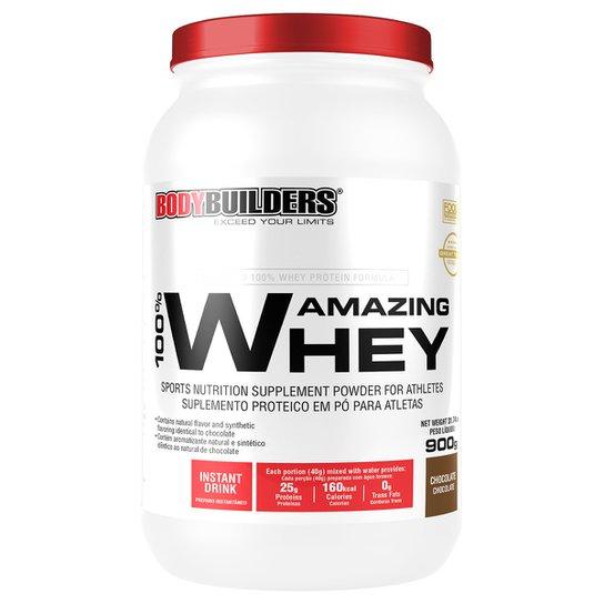 659113b27 100% Whey Protein Amazing 900g - Bodybuilders - Chocolate - Compre ...