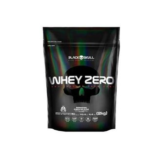 dd717b177f8 Whey Zero Refil Black Skull - 2kg