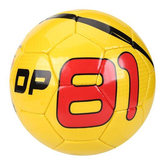 9323115e10 Bola Futsal DP81 Celebration Classic - Amarelo+Vermelho