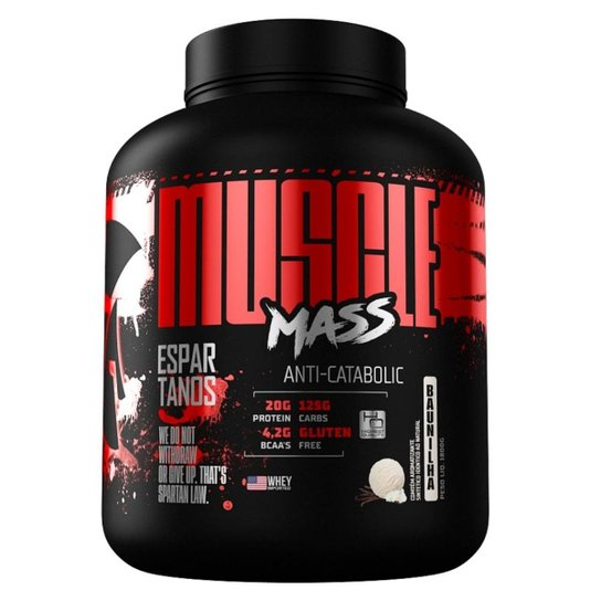 3096d8c74 Muscle Mass Hipercalórico 3Kg - Espartanos Nutrition - Chocolate ...
