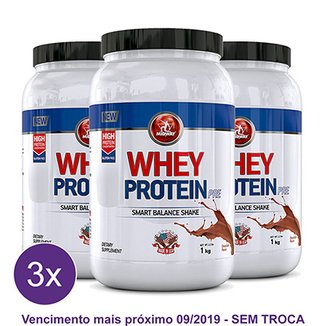 Kit 3x Whey Protein Pré Midway 1kg 7a8e507bdd85f